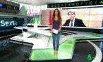 Cristina Saavedra, presentadora de Noticias 2 de La Sexta.