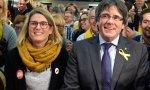 Elsa Artadi junto a Carles Puigdemont