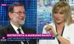 Rajoy con Griso, en la entrevista.