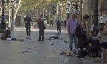 Tremenda instantánea de los atentados yihadistas en Cambrils y Barcelona