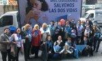Millones de argentinos sale a la calle contra el aborto con el pañuelo celeste que defiende la vida