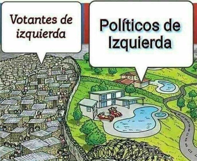 votantes y políticos