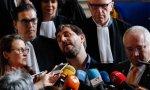Puig, Comin y Serret, favorecidos por la justicia belga.
