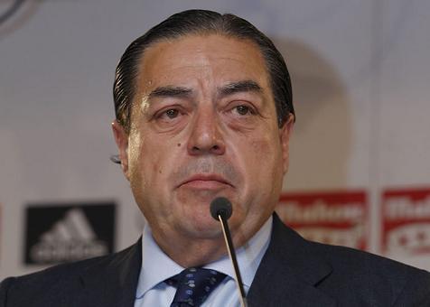 Vicente Boluda, en campaña para sustituir a 'Florentimo' en la Presidencia del Madrid